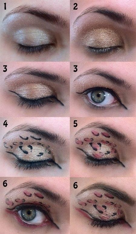 Passo a Passo de Maquiagem Maquiagem Oncinha Passo a