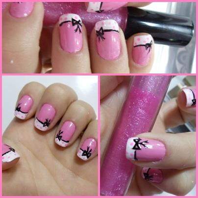 HD wallpapers fotos de unhas decoradas na cor rosa