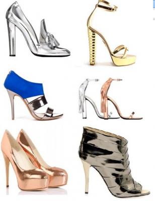 sapatos metalicos