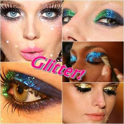 Glitter-make carnaval