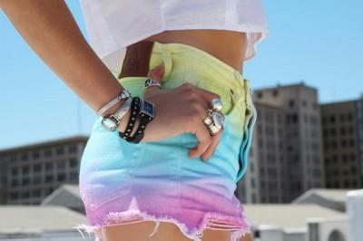 Jeans tie-dye