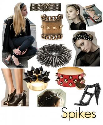 acessorio-feminino-com-spikes-na-moda