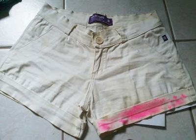 shorts oncinha passo a passo