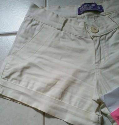 DIY Shorts Oncinha