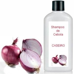 shampoo de cebola caseiro