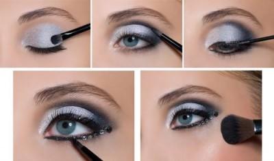 Sombra de olhos ideal para festa