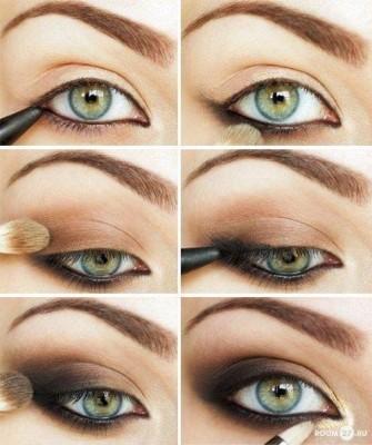 como fazer maquiagem para olhos azuis