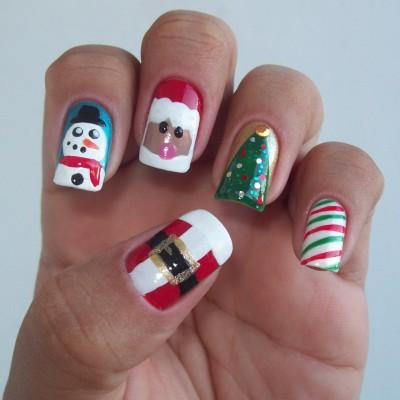 Unhas-decoradas-para o natal
