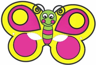 mascara-de-carnaval borboleta