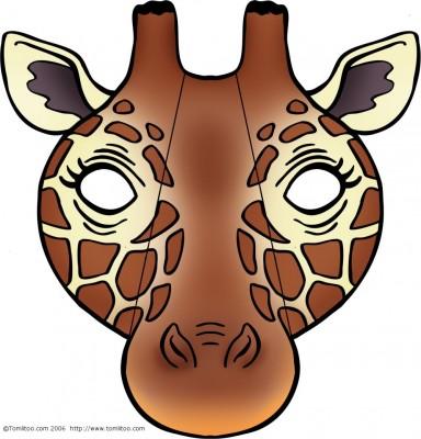 mascara-girafa