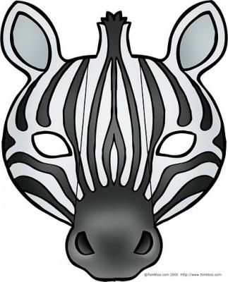 mascara zebra