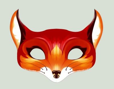 mascaras-de-carnaval-para-imprimir raposa