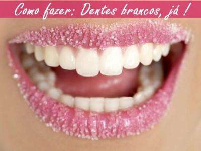 como clarear os dentes caseiro