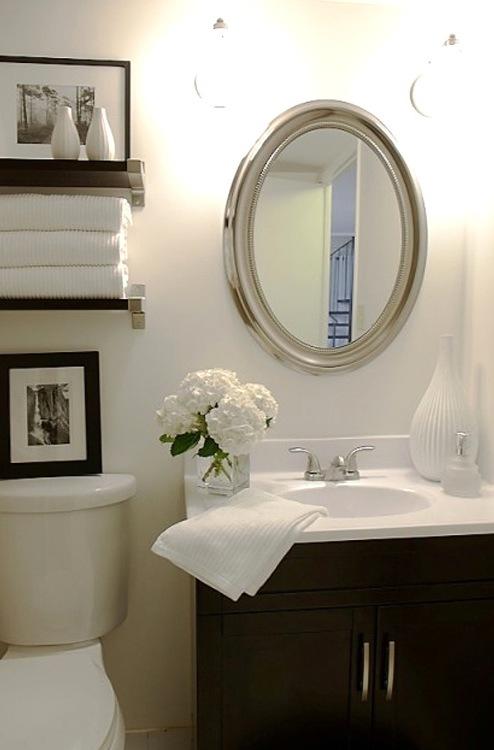 Dicas de Decoração para Banheiros Pequenos -> Otimizar Banheiro Pequeno