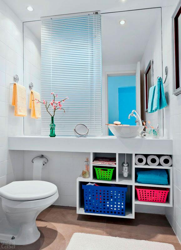 decoracao e banheiro:Dicas de Decoração para Banheiros Pequenos -