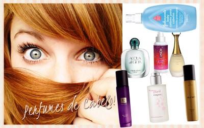 perfumes de cabelo