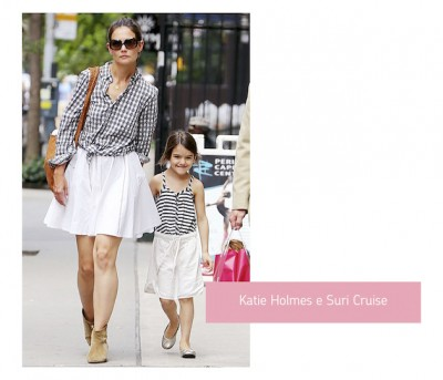 Katie-Holmes-e-Suri-Cruise-look-mae-e-filha-combinando