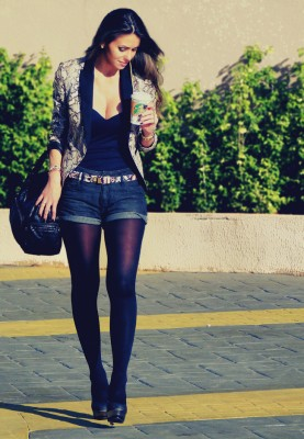 Look-do-dia-com-blazer-e-shorts-jeans