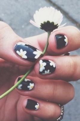 unhas com flores1