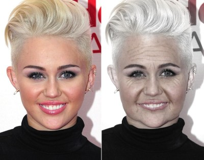 miley cyrus agingbooth