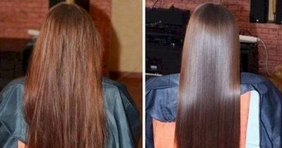 cabelo brilhante