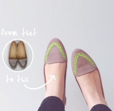 diy sapatos