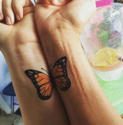 tatuagens entre mães e filhas