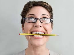 lápis faz sorrir