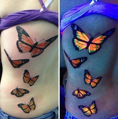 tatoo que brilha no escuro8