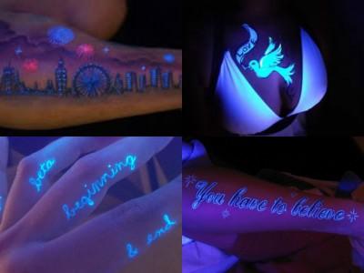 tatuagens uv