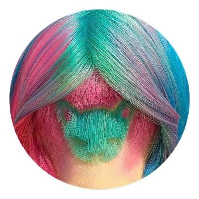 cabelo-gato colorido