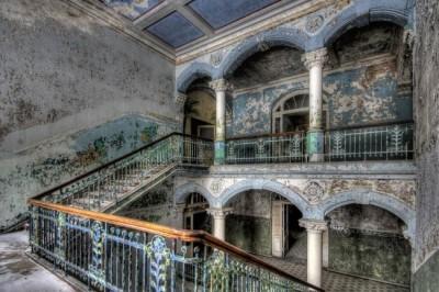 hospital militar abandonado