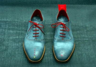 sapatos com gps