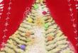 Árvore de Natal com massa folhada e Nutella