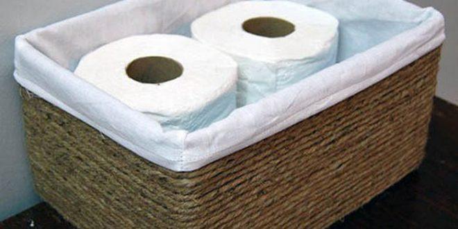 Transforme caixas de papelão em perfeitas cestas decorativas