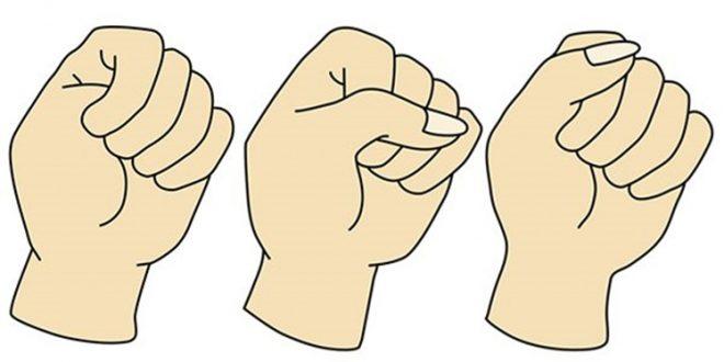 O que a forma como cerra o pulso diz sobre você